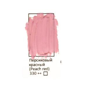 Масляная краска ФЕНИКС в тубе 50 мл. 330 Персиковый красный