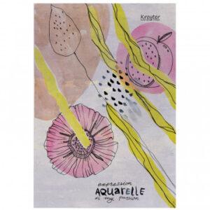 Папка для рисования акварелью А4, 10л, 180гр/м2 Kroyter Экспрессия