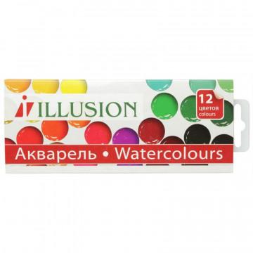 Краски акварельные Гамма Illusion 12цв