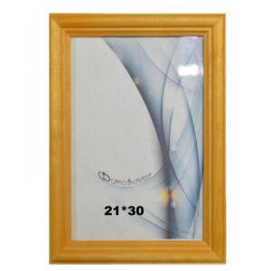 Деревянная фоторамка 21*30 арт. 1701 (лиственница)