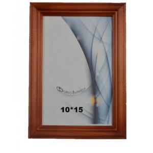 Деревянная фоторамка 10*15 арт. 1702 (красное дерево)
