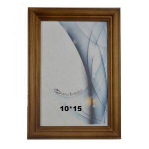 Деревянная фоторамка 10*15 арт. 1703 (орех)