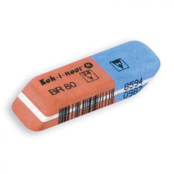 Ластик KOH-I-NOOR 6521/80 каучуковый, комбинир. Чехия