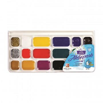 Краски акварельные Луч Престиж 18цв