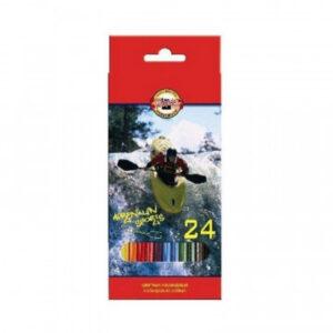 Карандаши цветные 24цв 6-гран Koh-I-Noor SPORT