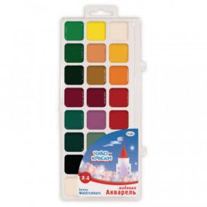 Краски акварельные Гамма Чудо-краски 24цв