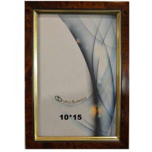 Фоторамка 10*15 (темный орех) арт.682