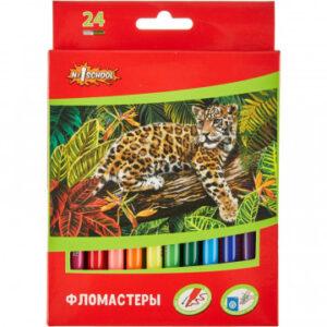 Фломастеры N1School ColorPics, 24 цветов
