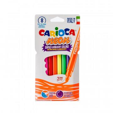 Фломастеры 8цв.,CARIOCA Neon