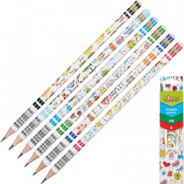 Набор карандашей чернографитный
