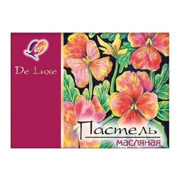Пастель масляная Люкс Луч 24 цв