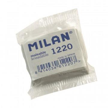 Ластик каучуковый Milan 1220 для стирания графита и угля