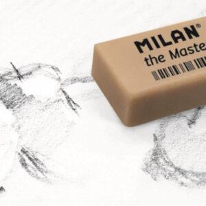 Ластик каучуковый Milan 1420 для стирания графита, для изобразит.искусства