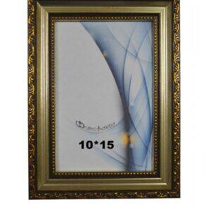 Фоторамка 10*15 (Серебро с черным) AC-070