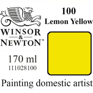 «Winsor & Newton» 100. Лимонно-желтый