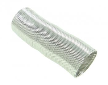 """""""Ars Hobby"""" Проволока с памятью для кольца, диаметр 20 мм, упаковка 50 витков, цвет платиновый металл"""