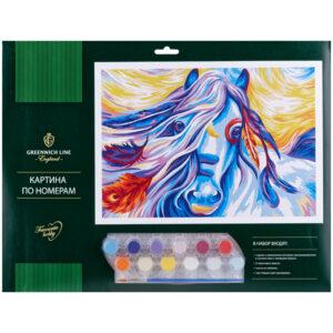 """Картина по номерам """"Сказочная лошадь"""""""