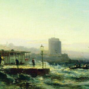 Алексей Боголюбов, Баку. Набережная