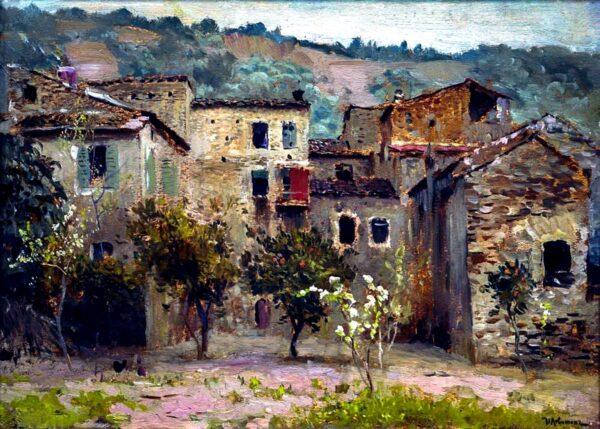 Исаак Ильич Левитан, Близ Бордигеры. На севере Италии