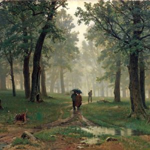 Иван Иванович Шишкин, Дождь в дубовом лесу