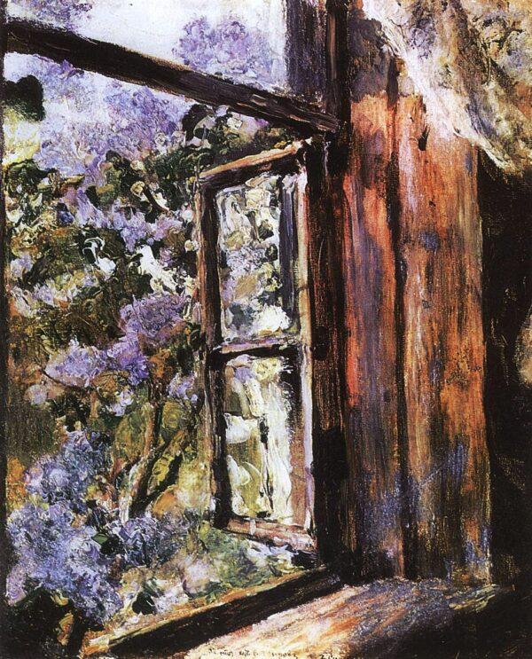 Валентин Серов, Открытое окно. Сирень