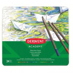Набор карандашей акварельных 24цв Derwent Academy Watercolour Tin
