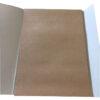 Папка крафт бумага, А3, 20л, 140г