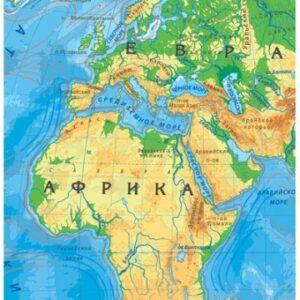 Карта пазл Мира