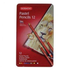 Набор карандашей пастельных Derwent Pastel 12шт