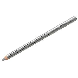 """Карандаш Faber-Castell """"Jumbo Grip"""" серебряный металлик"""