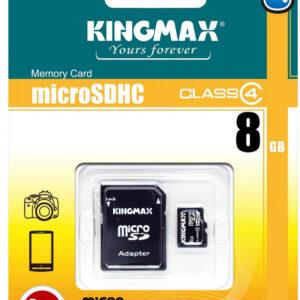 KINGMAX 8GB MICRO SDHC CLASS 10 + SD АДАПТЕР