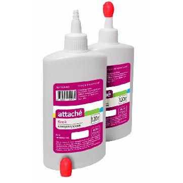 Клей канцелярский синтетический Attache 120 мл