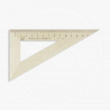 Треугольник деревянный 16см ,угол 30 градусов