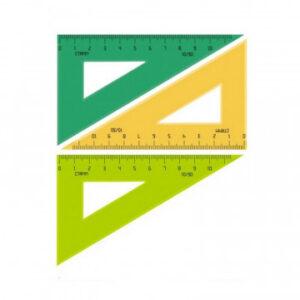 Линейка Треугольник 10 см угол 30 градусов