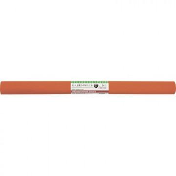 Бумага крепированная Greenwich Line, 50х250см, 32г/м2, оранжевая