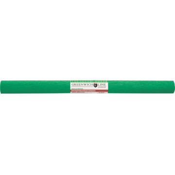 Бумага крепированная Greenwich Line, 50х250см, 32г/м2, зелёная