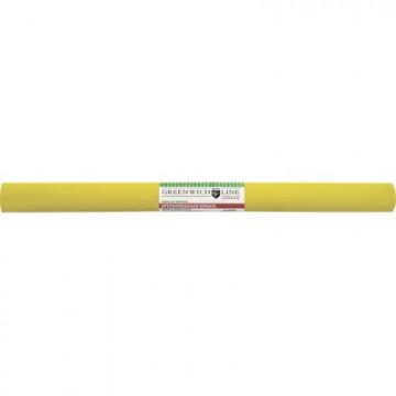 Бумага крепированная Greenwich Line, 50х250см, 32г/м2, жёлтая