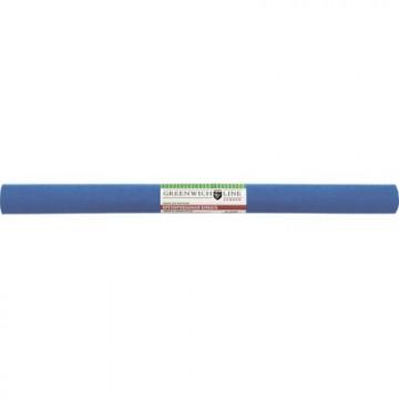 Бумага крепированная Greenwich Line, 50х250см, 32г/м2, синяя