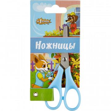 Ножницы детские №1School 11,5 см Шустрики, пластиковые ручки