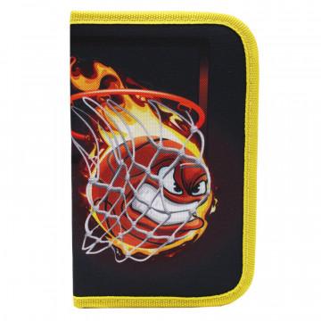 Пенал №1School Basketball односекц., ткань, 190x115 см