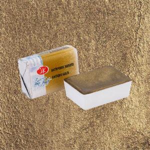 Античное золото металлик акварель 981 Белые ночи кювета 2,5 мл