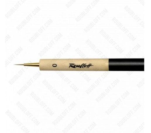 Кисть для миниатюр, круглая, колонок №0 Roubloff Miniature K1