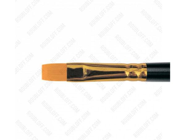 Кисть плоская, жесткая синтетика №6 Roubloff 1327
