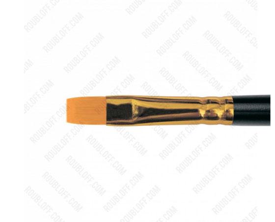 Кисть плоская, жесткая синтетика №7 Roubloff 1327
