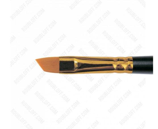 Кисть скошенная, жесткая синтетика №6 Roubloff 1365