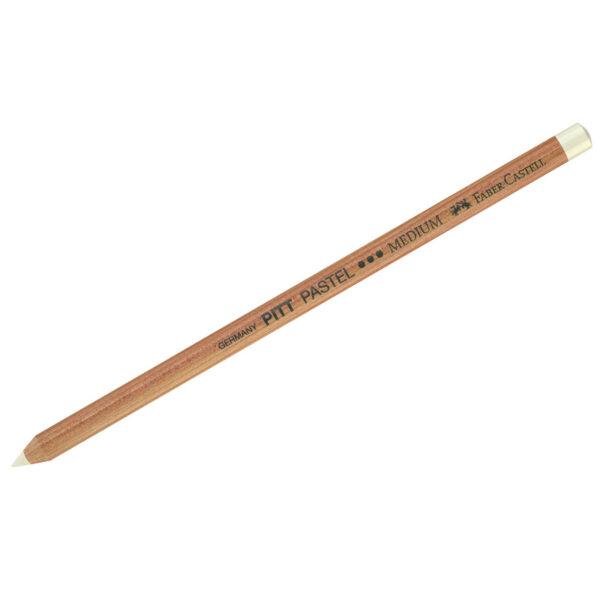 """Пастельный карандаш Faber-Castell """"Pitt Pastel"""" цвет 101 белый средний"""