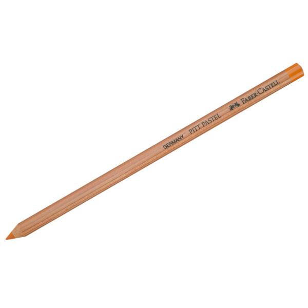 """Пастельный карандаш Faber-Castell """"Pitt Pastel"""" цвет 113 оранжевая глазурь"""