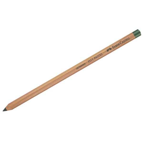 """Пастельный карандаш Faber-Castell """"Pitt Pastel"""" цвет 165 зеленый можжевельник"""
