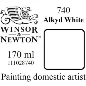 «Winsor & Newton» 740. Белила алкидные