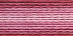 """Нитки для вышивания """"Gamma"""" мулине меланж 100% хлопок 12 x 8 м Р-06 брусничный-молочный"""